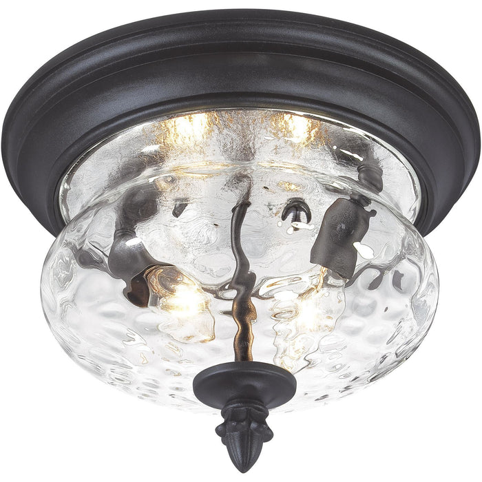 Minka Lavery Great Outdoor 9909-1-66 Ardmore 2 Light Flush Mount