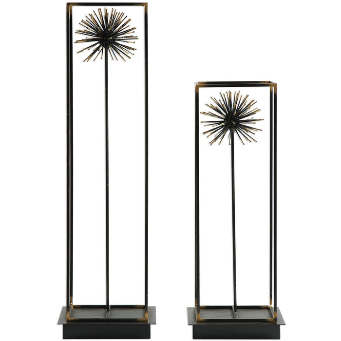 Uttermost 18837 Flowering Dandelions Sculptures Set of 2