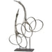 Uttermost 18944 Admiration Silver Bird Sculpture