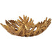 Uttermost 18615 Oak Leaf Metallic Gold Bowl