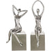 Uttermost 18581 Jaylene Silver Sculptures Set of 2