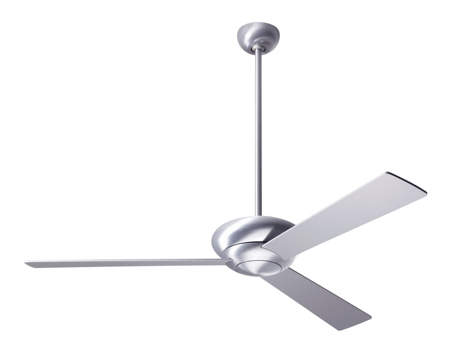"Modern Fan Altus Brushed Aluminum 52"" Ceiling Fan with Aluminum Blades"