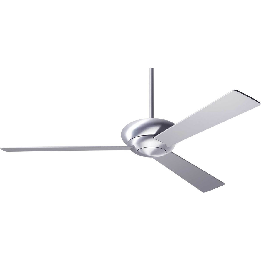 "Modern Fan Company Altus Brushed Aluminum 42"" Ceiling Fan with Remote Control"