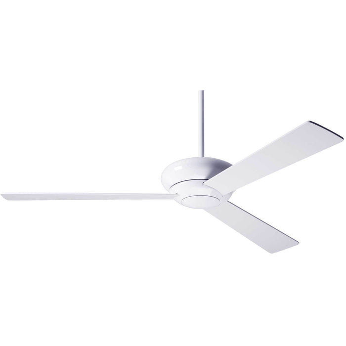 "Modern Fan Company Altus Gloss White 42"" Ceiling Fan with Wall Control"