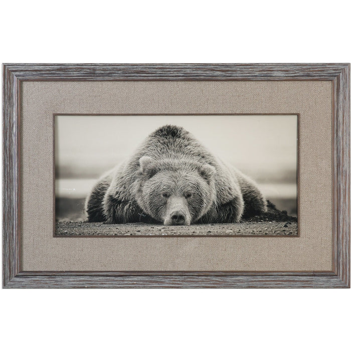 Uttermost 33661 Deep Sleep Bear Print