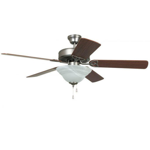 "Craftmade BLD52AN5C1 Builder Deluxe Antique Nickel 52"" Ceiling Fan"