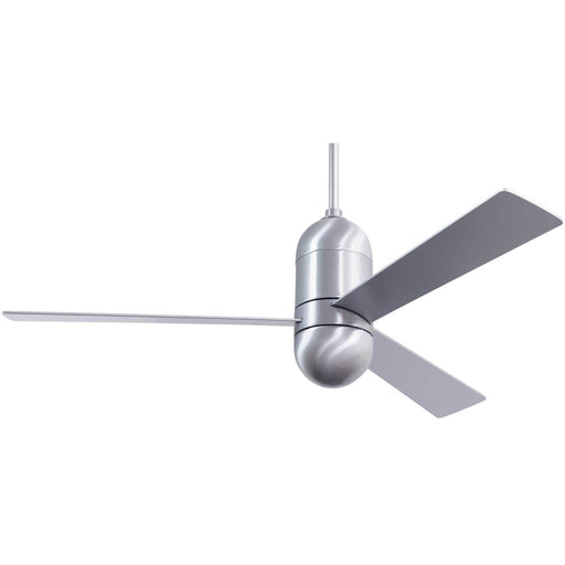 "Modern Fan Company Cirrus DC Brushed Aluminum 50"" Ceiling Fan with Remote"