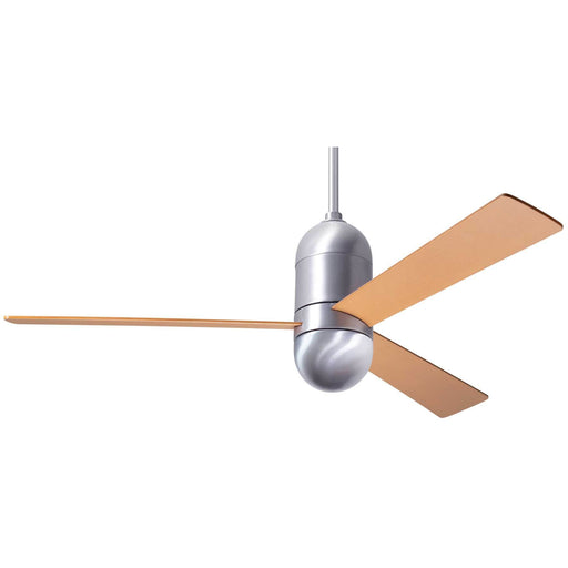 "Modern Fan Company Cirrus DC Brushed Aluminum 50"" Ceiling Fan with Maples Blades"