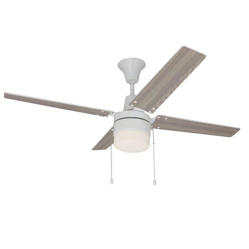 "Craftmade CON48W4C1 Connery White 48"" Ceiling Fan"
