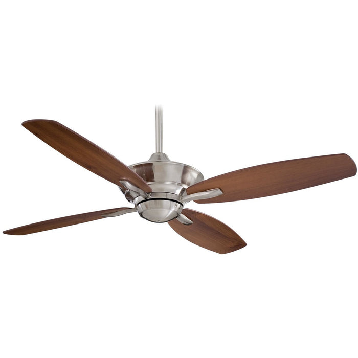 "Minka Aire F513-BN New Era Brushed Nickel 52"" Ceiling Fan with Remote Control - ALCOVE LIGHTING"