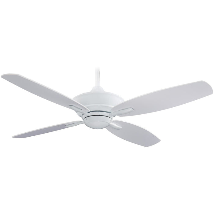 "Minka Aire F513-WH New Era White 52"" Ceiling Fan with Remote Control - ALCOVE LIGHTING"