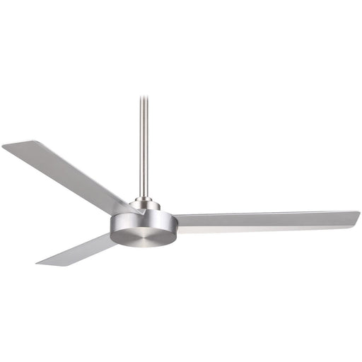 "Minka Aire F524-ABD Roto Brushed Aluminum 52"" Ceiling Fan with Wall Control - ALCOVE LIGHTING"