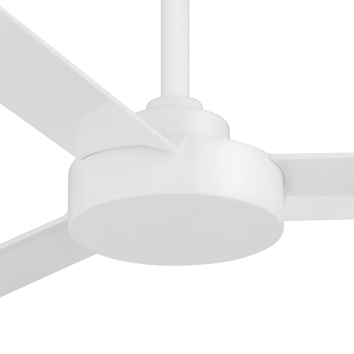 "Minka Aire F524-WHF Roto Flat White 52"" Ceiling Fan with Wall Control"