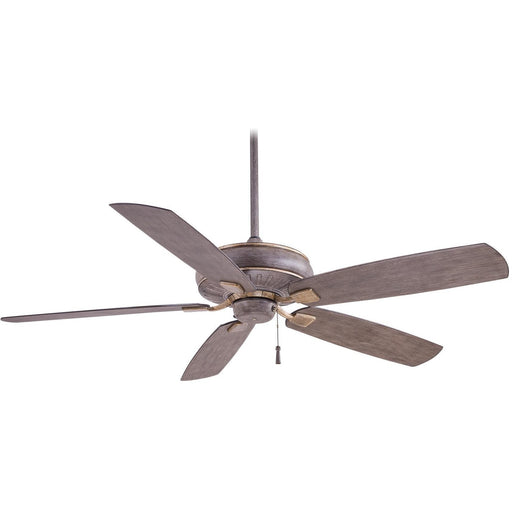 "Minka Aire F532-DRF Sunseeker Driftwood 60"" Outdoor Ceiling Fan - ALCOVE LIGHTING"