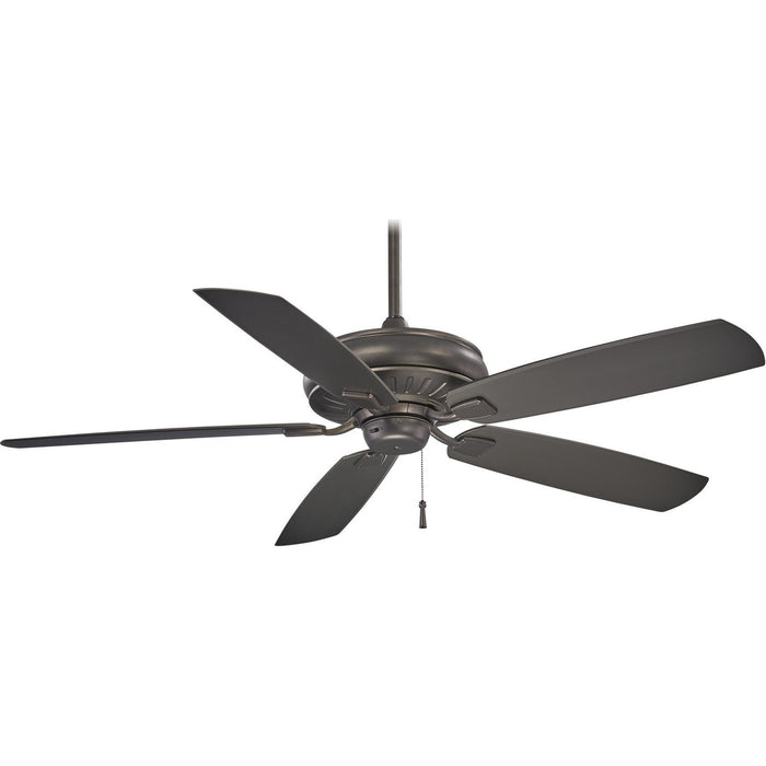 "Minka Aire F532-SI Sunseeker Smoked Iron 60"" Outdoor Ceiling Fan - ALCOVE LIGHTING"