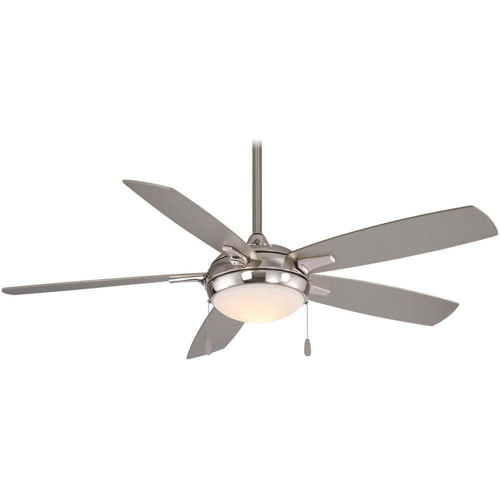 "Minka Aire F534L-BN Luna-Aire Brushed Nickel 54"" LED Ceiling Fan"