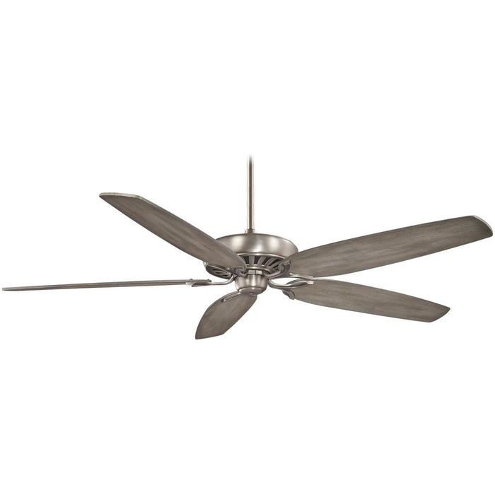 "Minka Aire F539-BNK Great Room Burnished Nickel 72"" Ceiling Fan with Wall Control - ALCOVE LIGHTING"