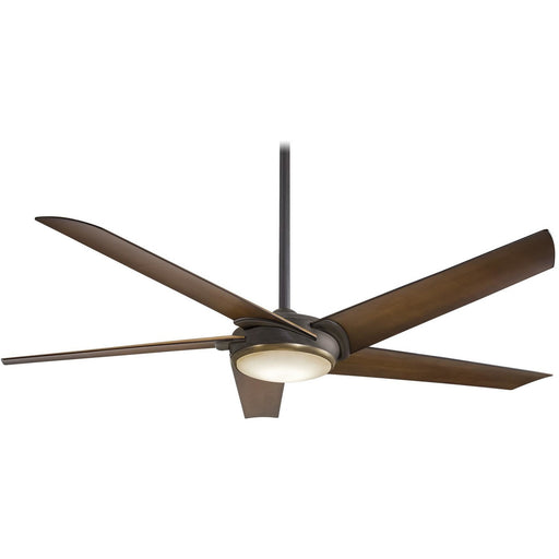 "Minka Aire F617L-ORB/AB Raptor Oil Rubbed Bronze 60"" Ceiling Fan with Remote Control - ALCOVE LIGHTING"