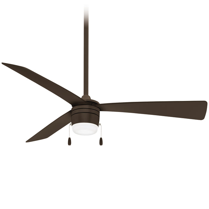 "Minka Aire Vital 44"" Indoor Oil Rubbed Bronze Ceiling Fan with LED Light"