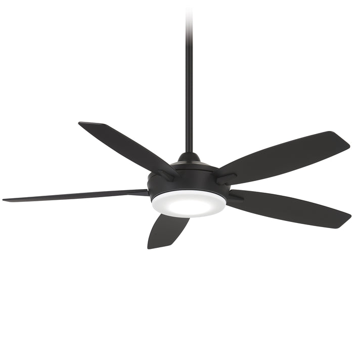 "Minka Aire Espace 52"" Coal LED Ceiling Fan with Remote Control"