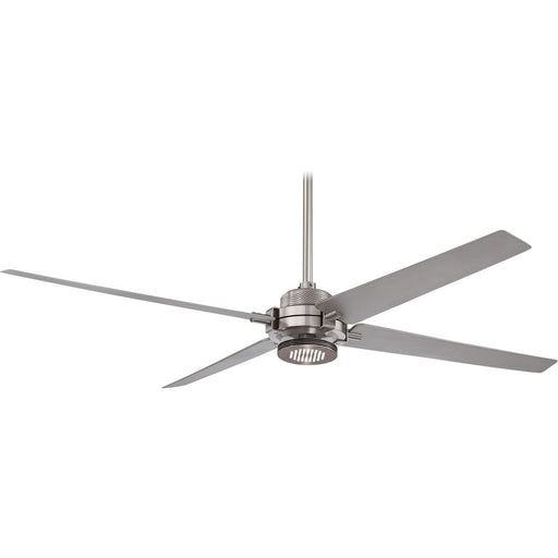 "Minka Aire F726-BN/SL Spectre Brushed Nickel 60"" Ceiling Fan with Remote Control - ALCOVE LIGHTING"