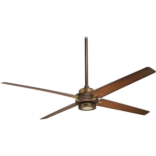 "Minka Aire F726-ORB/AB Spectre Oil Rubbed Bronze 60"" Ceiling Fan with Remote Control - ALCOVE LIGHTING"