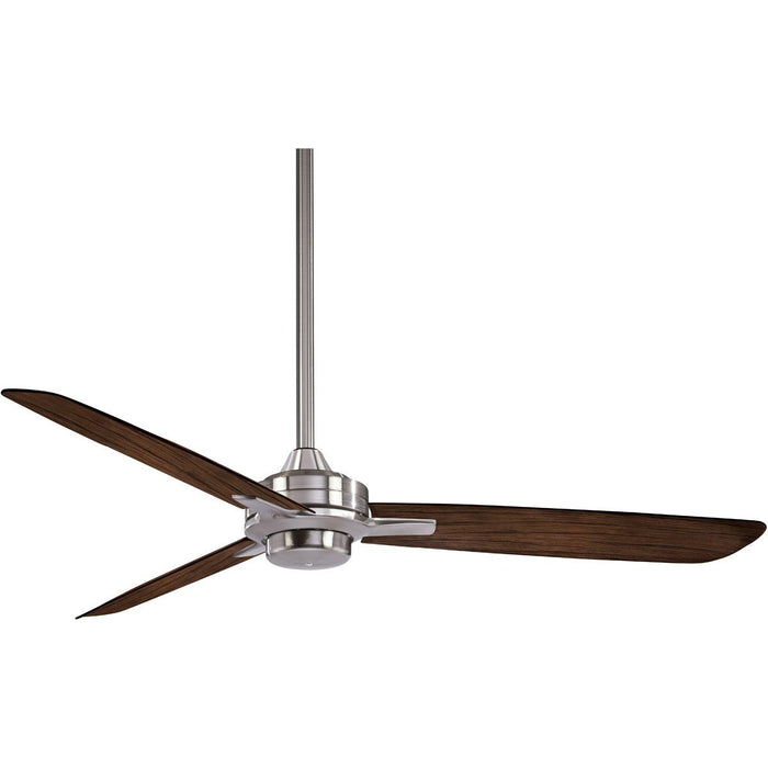 "Minka Aire F727-BN/MM Rudolph Brushed Nickel 52"" Ceiling Fan with Wall Control"