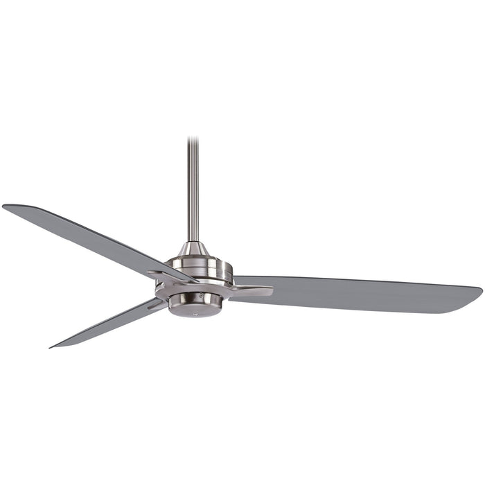 "Minka Aire F727-BN/SL Rudolph Brushed Nickel 52"" Ceiling Fan with Wall Control"