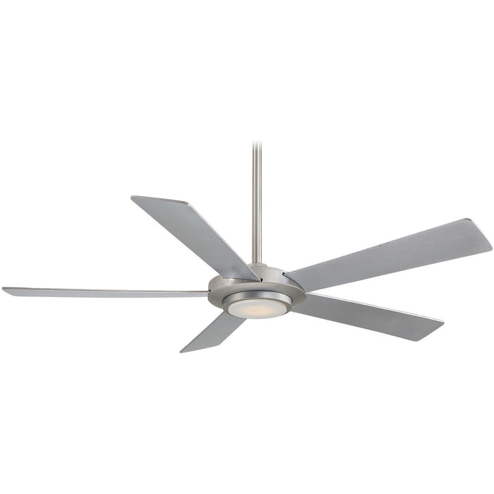 "Minka Aire F745-BN Sabot Brushed Nickel 52"" Ceiling Fan with Remote Control - ALCOVE LIGHTING"