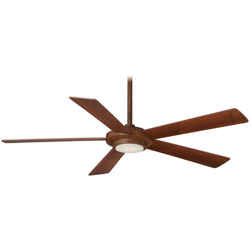 "Minka Aire F745-DK Sabot Distressed Koa 52"" Ceiling Fan with Remote Control - ALCOVE LIGHTING"