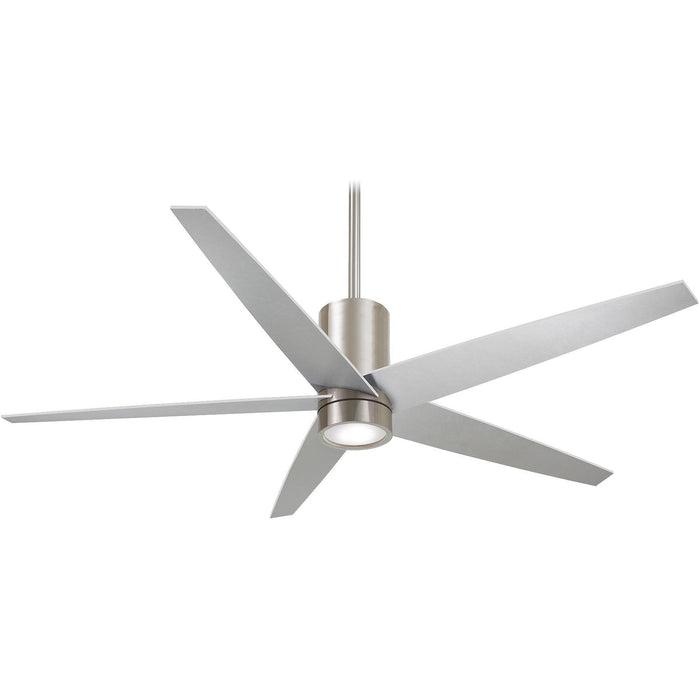 "Minka Aire F828-BN Symbio Brushed Nickel 56"" Ceiling Fan with Remote Control - ALCOVE LIGHTING"