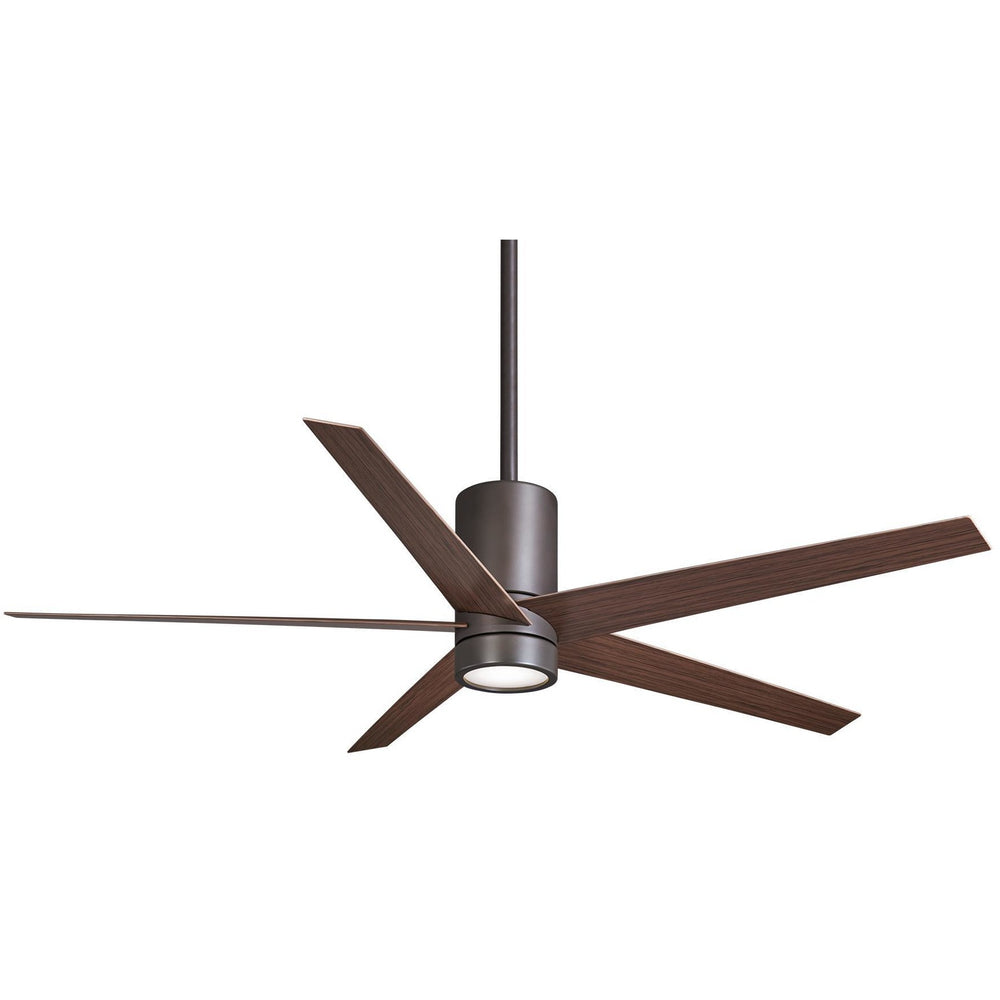 "Minka Aire F828-ORB Symbio Oil Rubbed Bronze 56"" Ceiling Fan with Remote Control - ALCOVE LIGHTING"