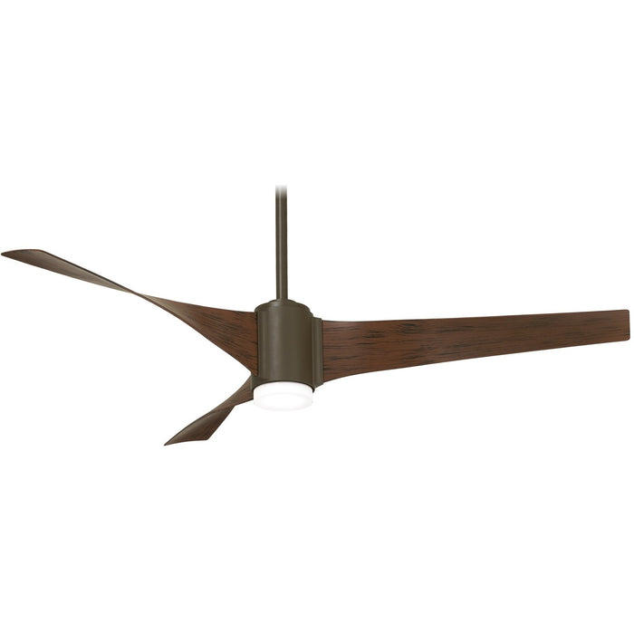 "Minka Aire F832L-ORB/MM Triple Oil Rubbed Bronze 60"" Ceiling Fan with Remote Control"