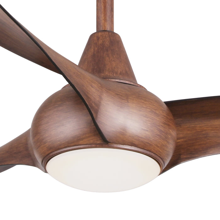 "Minka Aire F844-DK Light Wave Distressed Koa 52"" Ceiling Fan with Remote Control"
