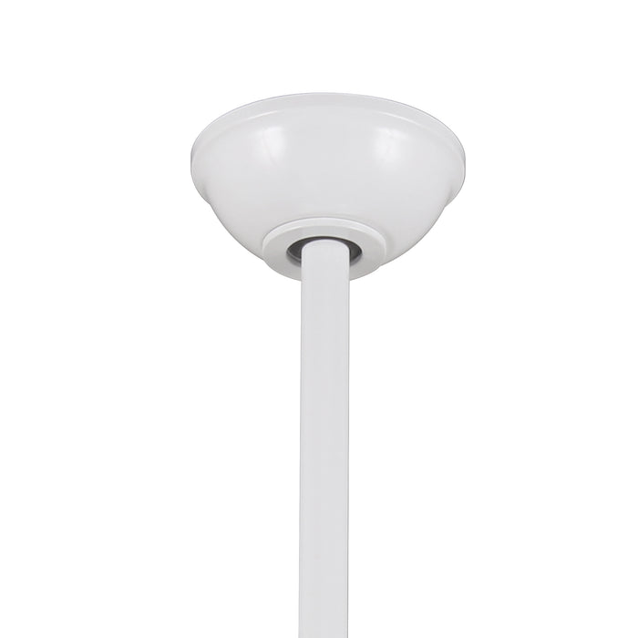 """White Minka Aire F844-WH Light Wave 52/"""" Ceiling Fan w//Remote Control"""