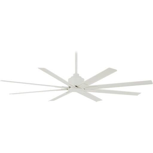 "Minka Aire F896-65-WHF Xtreme H2O Flat White 65"" Outdoor Ceiling Fan with Remote Control"