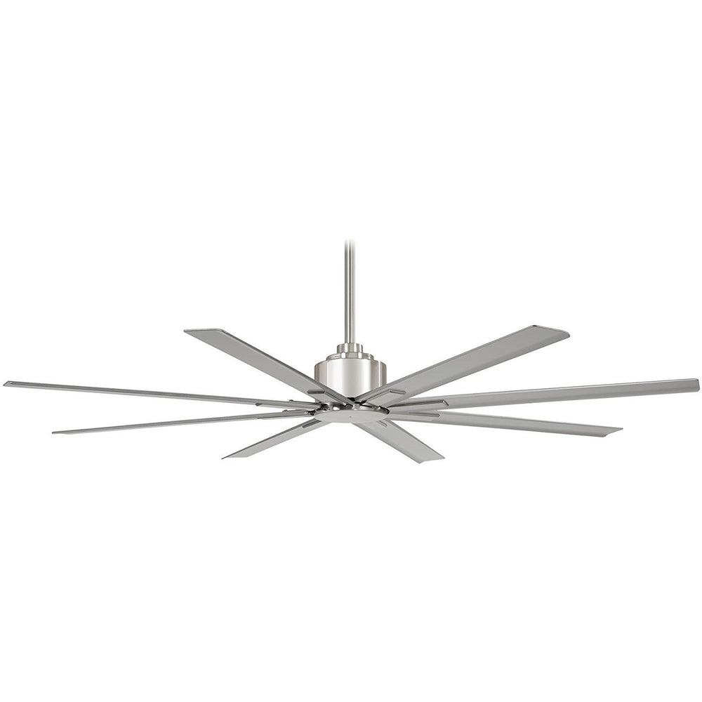 "Minka Aire F896-84-BNW Xtreme H2O Brushed Nickel Wet 84"" Outdoor Ceiling Fan with Remote Control"