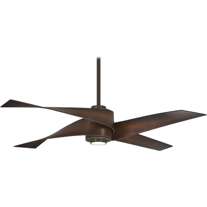 "Minka Aire F903L-ORB Artemis IV Oil Rubbed Bronze 64"" Ceiling Fan with Remote Control"