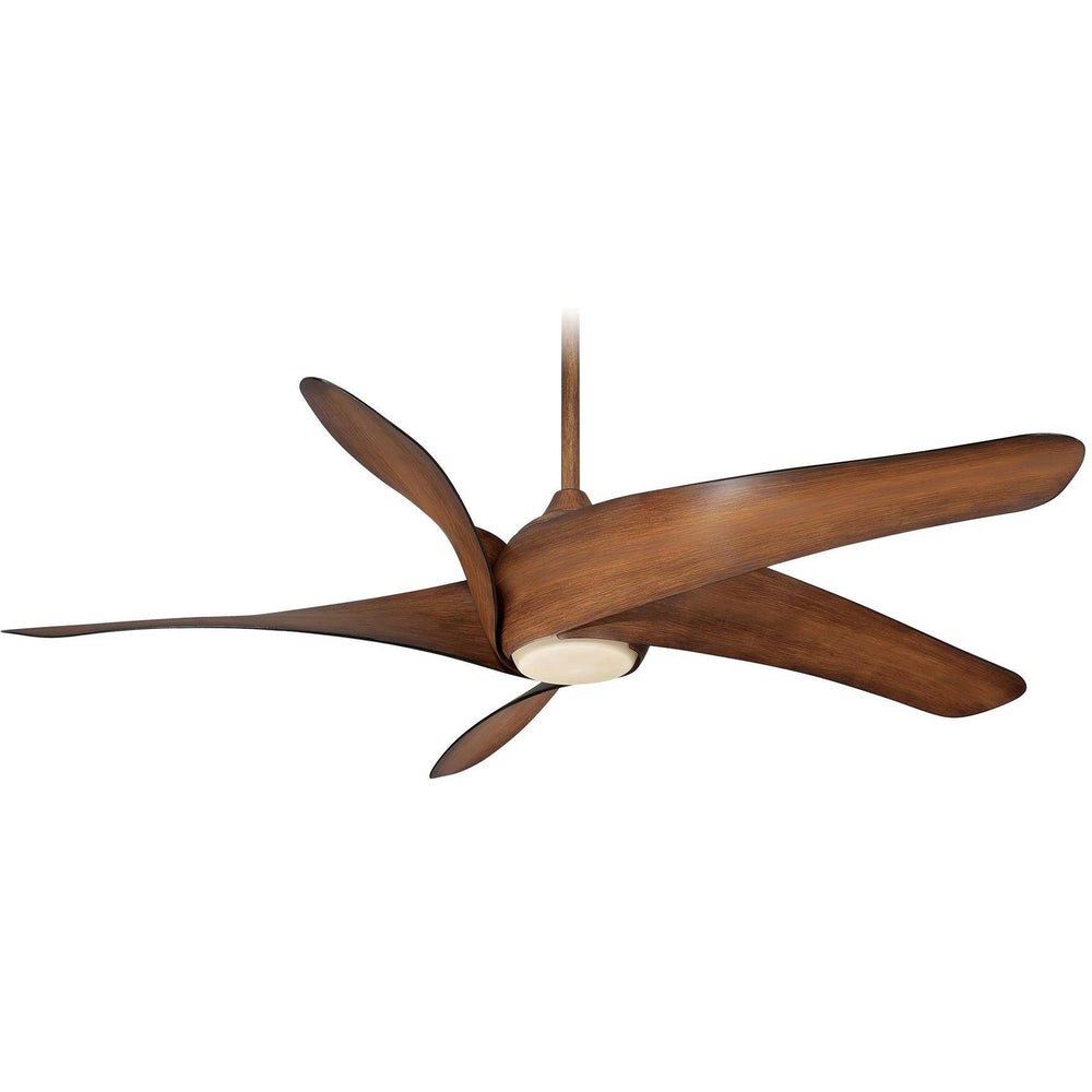 "Minka Aire F905L-DK Artemis XL5 Distressed Koa 62"" Ceiling Fan with Remote Control - ALCOVE LIGHTING"