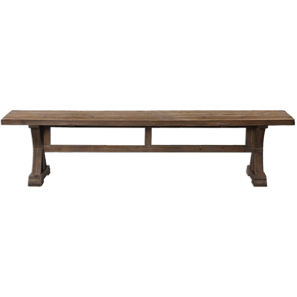 Uttermost 24558  Stratford Salvaged Wood Bench