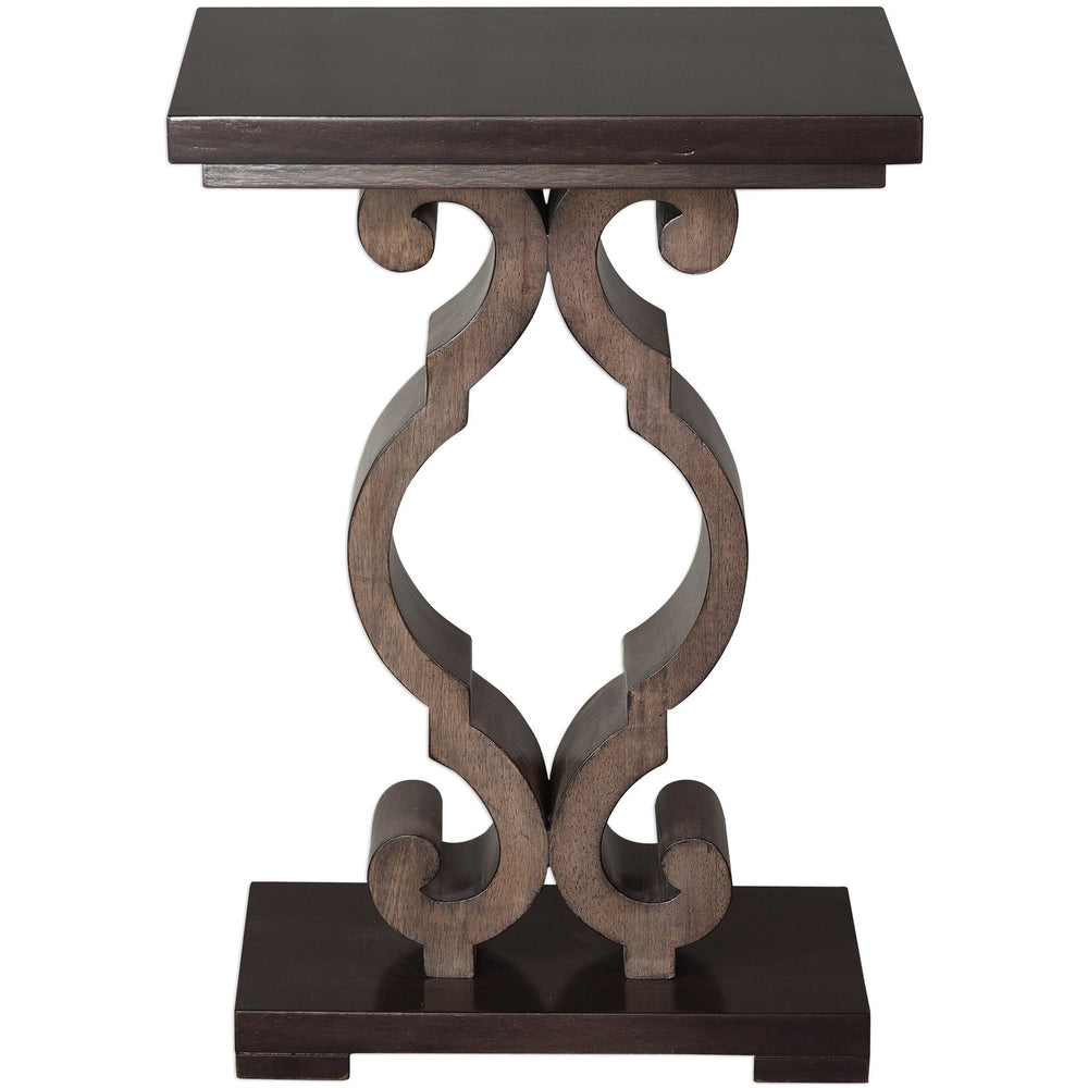 Uttermost 25979 Parina Ebony Accent Table