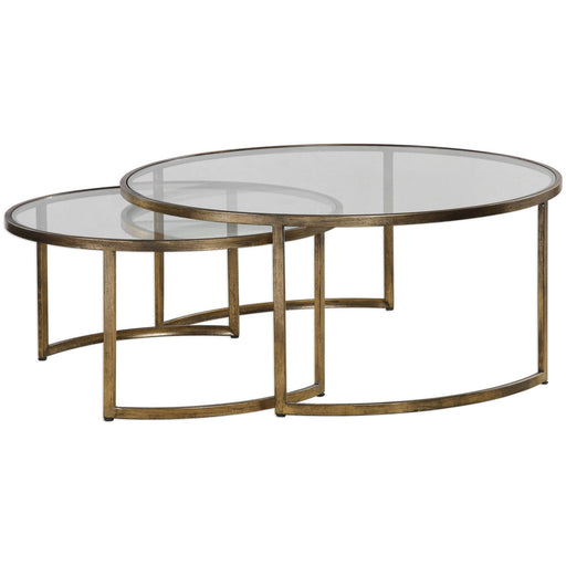 Uttermost 24747 Rhea Nested Coffee Tables Set of 2