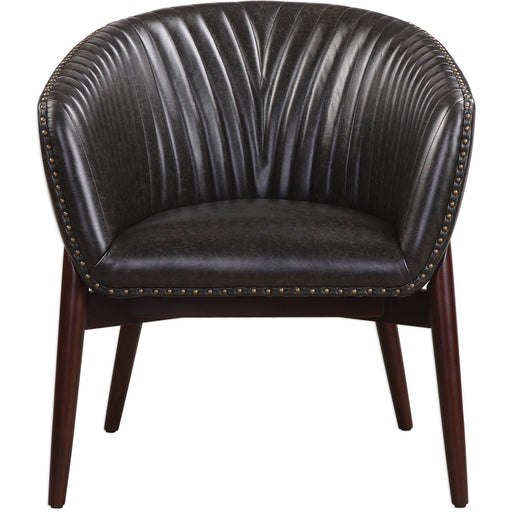 Uttermost 23380 Anders Chenille Accent Chair