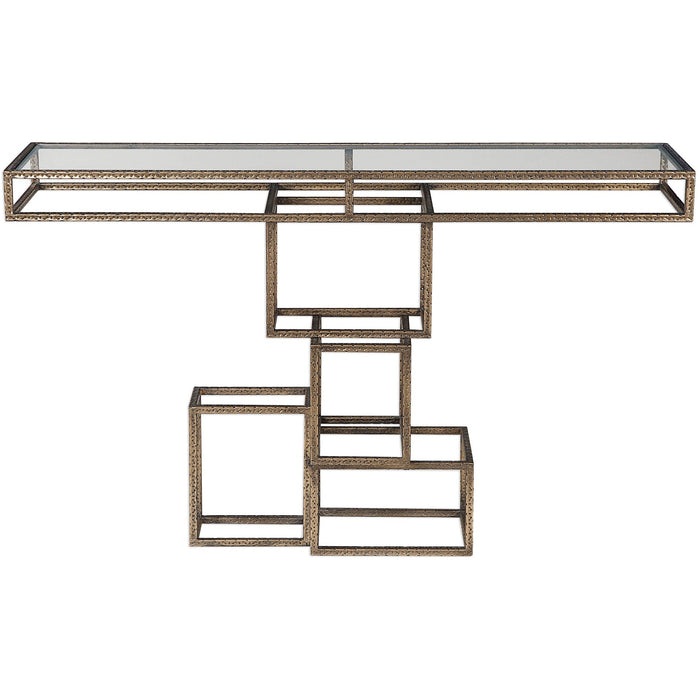Uttermost 24851 Ruslan Bronze Console Table