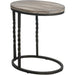 Uttermost 25320 Tauret Cantilever Side Table