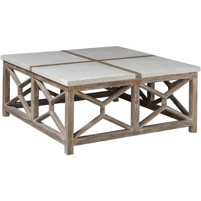 Uttermost 25885 Catali Stone Coffee Table