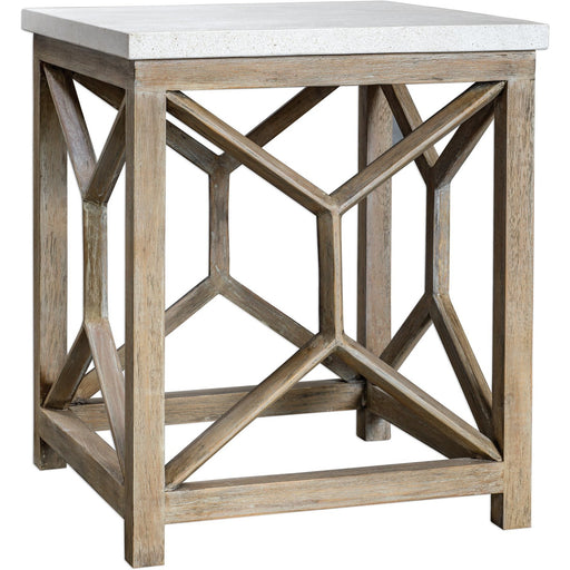 Uttermost 25886 Catali Stone End Table
