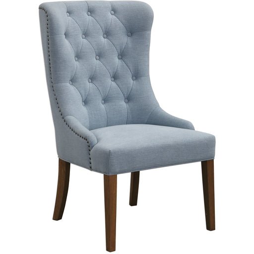 Uttermost 23473 Rioni Tufted Wing Chair