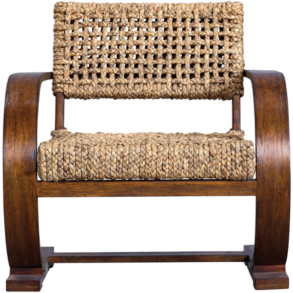 Uttermost 23483 Rehema Natural Woven Accent Chair