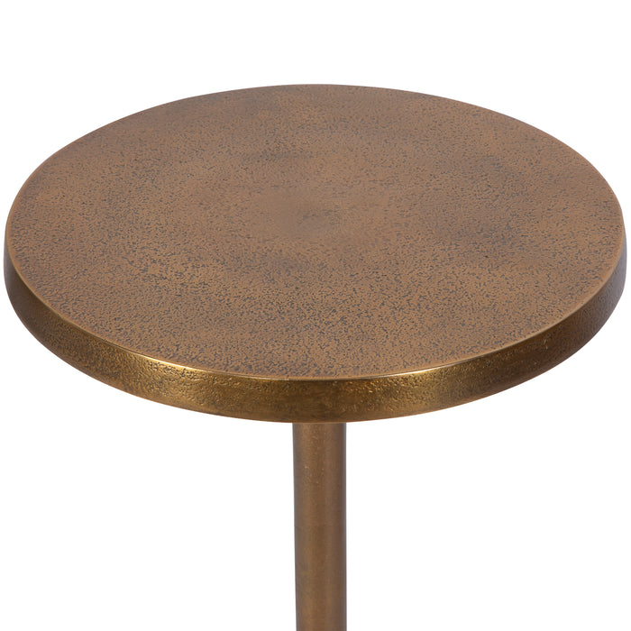 Uttermost 25061 Sanaga Drink Table Gold